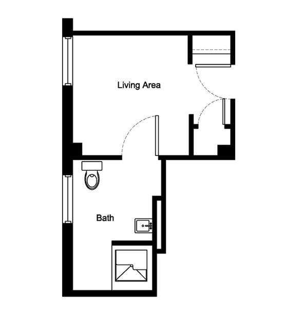 Floor Plan for Studio