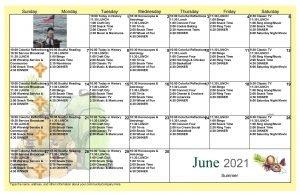 June Event Calendar 2021